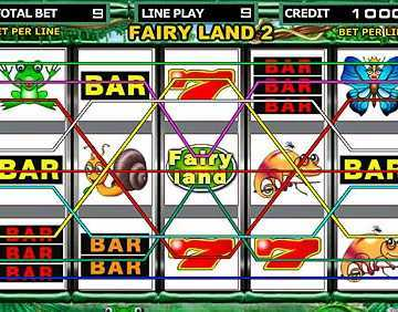 How many lines to choose on slot machines?